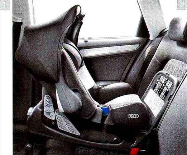 A4・S4 パーツ Audi ベビーシート(G0) アウディ純正部品 8KCDN オプション アクセサリー 用品 純正 送料無料