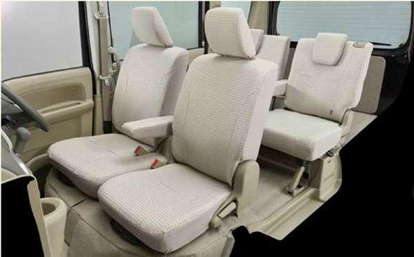 『タウンボックス』 純正 DS17W シートカバー 千鳥格子 パーツ 三菱純正部品 座席カバー 汚れ シート保護 TOWNBOX オプション アクセサリー 用品