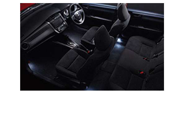 『カローラフィールダー』 純正 ZRE162G NZE1 インテリアイルミネーション(スイッチ別売り aewq027) 2モードタイプ (ホワイト) ※スイッチキットが別売りです パーツ トヨタ純正部品 照明 明かり ライト fielder オプション アクセサリー 用品