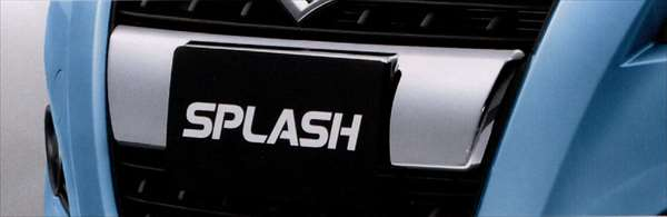 『スプラッシュ』 純正 XB32S フロントグリルカバー パーツ スズキ純正部品 飾り カスタム エアロ splash オプション アクセサリー 用品