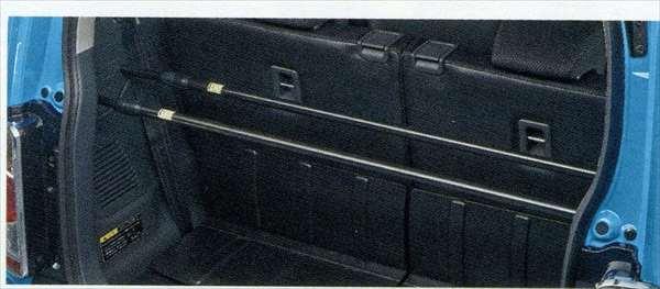 『ハスラー』 純正 MR31S ラゲッジバー 2本セット パーツ スズキ純正部品 hustler オプション アクセサリー 用品