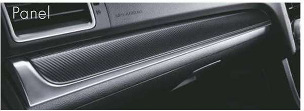 『XV』 純正 GP7 インパネパネル(マットカーボン調) 左右セット パーツ スバル純正部品 内装パネル ドレスアップ オプション アクセサリー 用品