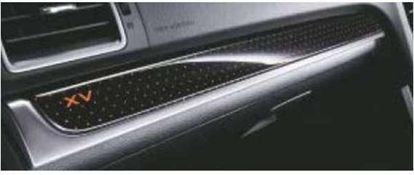 『XV』 純正 GP7 インパネパネル(ミニマムブラック) 左右セット パーツ スバル純正部品 内装パネル ドレスアップ オプション アクセサリー 用品