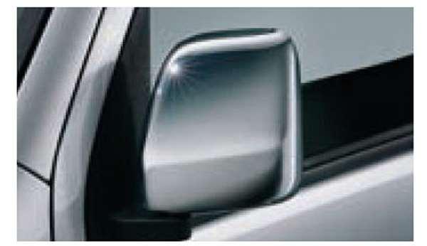 『サンバーバン』 純正 S321B S331B S321Q S331Q メッキドアミラーカバー パーツ スバル純正部品 サイドミラーカバー カスタム オプション アクセサリー 用品