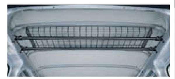 『サンバーバン』 純正 S321B S331B S321Q S331Q ネットラック リヤ パーツ スバル純正部品 収納 スペース オプション アクセサリー 用品
