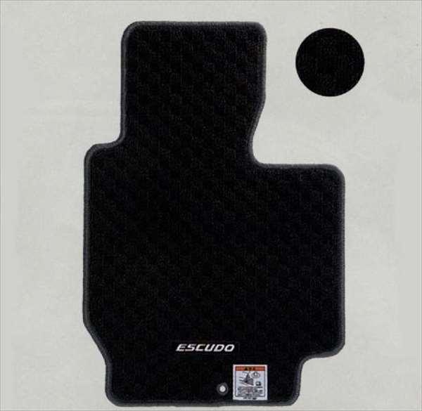 『エスクード』 純正 TDA4W フロアマット・ジュータン(スタウト) パーツ スズキ純正部品 フロアカーペット カーマット カーペットマット escudo オプション アクセサリー 用品