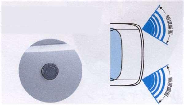 『エスクード』 純正 TDA4W コーナーセンサー パーツ スズキ純正部品 危険察知 接触防止 セキュリティー escudo オプション アクセサリー 用品