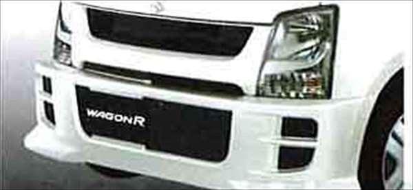 『ワゴンR』 純正 MH22 フロントバンパー&グリル パーツ スズキ純正部品 カスタム エアロバンパー wagonr オプション アクセサリー 用品