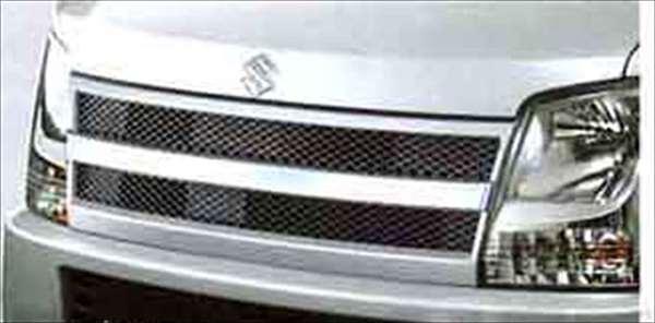『ワゴンR』 純正 MH22 フロントグリル タイプ2 パーツ スズキ純正部品 飾り カスタム エアロ wagonr オプション アクセサリー 用品