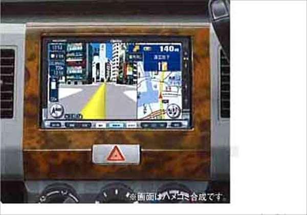 『ワゴンR』 純正 MH22 センターガーニッシュ(ウッド調) パーツ スズキ純正部品 内装パネル センターパネル オーディオパネル wagonr オプション アクセサリー 用品