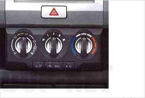 『ワゴンR』 純正 MH22 エアコンスイッチノブベゼル パーツ スズキ純正部品 wagonr オプション アクセサリー 用品