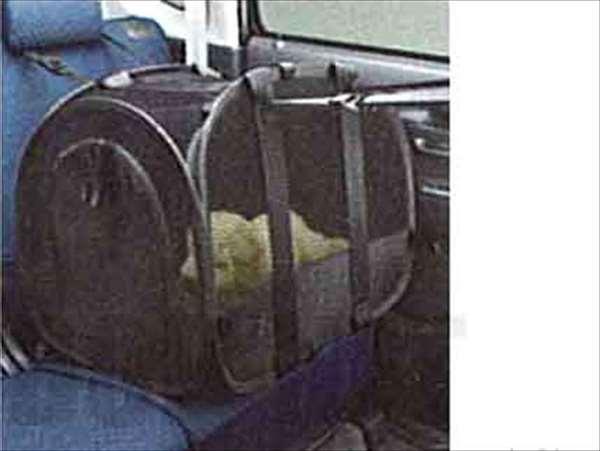 『ワゴンR』 純正 MH22 ペットキャリア パーツ スズキ純正部品 ゲージ バスケット ペットキャリー wagonr オプション アクセサリー 用品