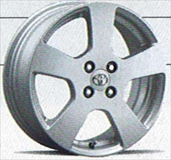 『ヴィッツ』 純正 NCP91 SCP90 KSP90 アルミホイールスタンダード 1本のみ (16インチ) パーツ トヨタ純正部品 vitz オプション アクセサリー 用品
