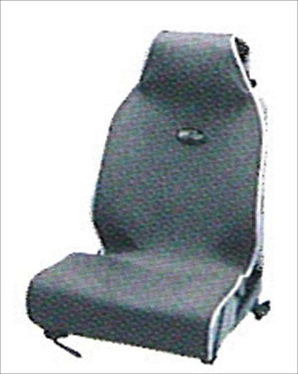 『ヴィッツ』 純正 NCP91 SCP90 KSP90 シートエプロン1枚グレー パーツ トヨタ純正部品 汚れから保護 セミシートカバー vitz オプション アクセサリー 用品