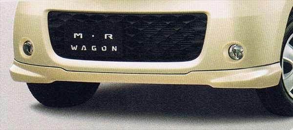 正牌的MF22S前台下面扰流器(平面风格)零件铃木纯正零部件furontosupoirakasutamuearo mrwagon选项配饰用品