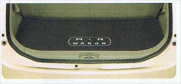 『MRワゴン』 純正 MF22S ラゲッジマット(ソフトトレー) パーツ スズキ純正部品 ラゲージマット 荷室マット 滑り止め mrwagon オプション アクセサリー 用品