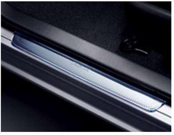 flor032 『アクア』 純正 NHP10 スカッフプレート パーツ トヨタ純正部品 ステップ 保護 プレート aqua オプション アクセサリー 用品