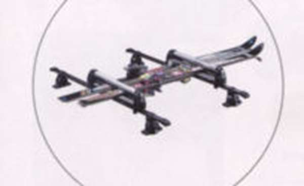 『iMiEV』 純正 V98W V97W V93W スキー&スノーボードアタッチメント(平積ショート) パーツ 三菱純正部品 キャリア別売りキャリア別売り オプション アクセサリー 用品