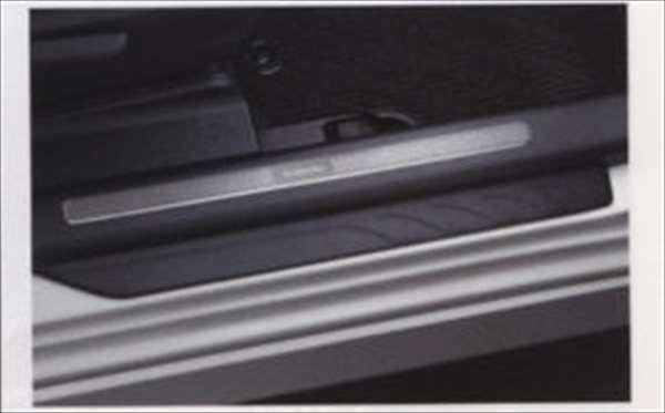 『トレジア』 純正 NSP120 NCP120 NCP125 サイドシルプレートセット パーツ スバル純正部品 ステップ 保護 プレート TREZIA オプション アクセサリー 用品