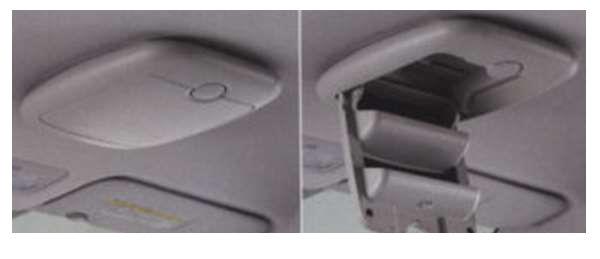 『トレジア』 純正 NSP120 NCP120 NCP125 オーバーヘッドコンソール パーツ スバル純正部品 TREZIA オプション アクセサリー 用品