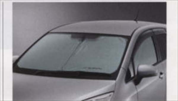 『トレジア』 純正 NSP120 NCP120 NCP125 サンシェード 1台分(フロントウインドゥ、フロントドア)セット パーツ スバル純正部品 サンシェイド 日除け 目隠し TREZIA オプション アクセサリー 用品