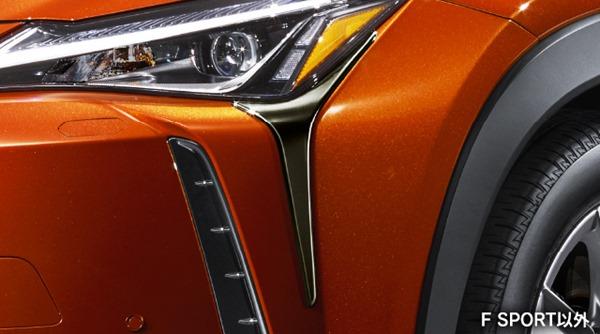 『UX』 純正 AWXBB MODELLISTA ヘッドランプガーニッシュ 1台分 パーツ レクサス純正部品 メッキ ヘッドライトパネル ドレスアップ カスタム オプション アクセサリー 用品