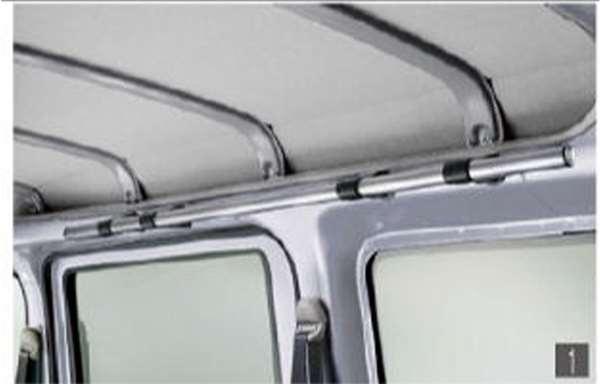 『ハイゼット カーゴ』 純正 S321V S331V アッパーシステムレール パーツ ダイハツ純正部品 オプション アクセサリー 用品