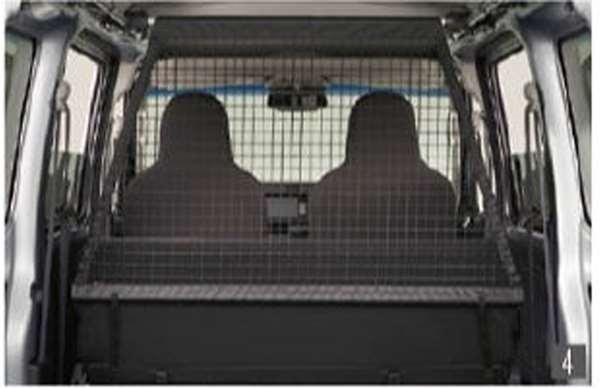 『ハイゼット カーゴ』 純正 S321V S331V パーティションネット(アッパーシステムレール用) パーツ ダイハツ純正部品 オプション アクセサリー 用品