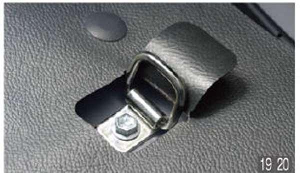 ハイゼット カーゴ 純正 S321V 物品 S331V 荷室フック 2個セット オプション パーツ 用品 日本製 アクセサリー ダイハツ純正部品 固定