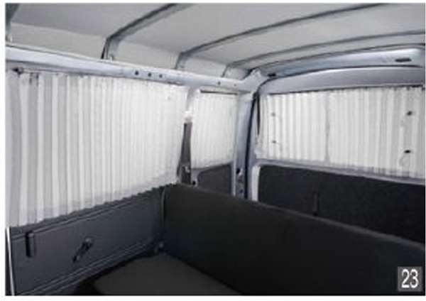 『ハイゼット カーゴ』 純正 S321V S331V カーテン(遮光タイプ) パーツ ダイハツ純正部品 オプション アクセサリー 用品