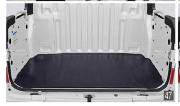 『ハイゼット カーゴ』 純正 S321V S331V 荷台ゴムマット(5mm)デッキバン用 パーツ ダイハツ純正部品 ラバーマット フロアマットラバーマット フロアマットシート 保護 オプション アクセサリー 用品