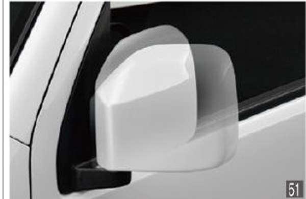 『ハイゼット カーゴ』 純正 S321V S331V オートリトラクタブルミラー パーツ ダイハツ純正部品 オプション アクセサリー 用品
