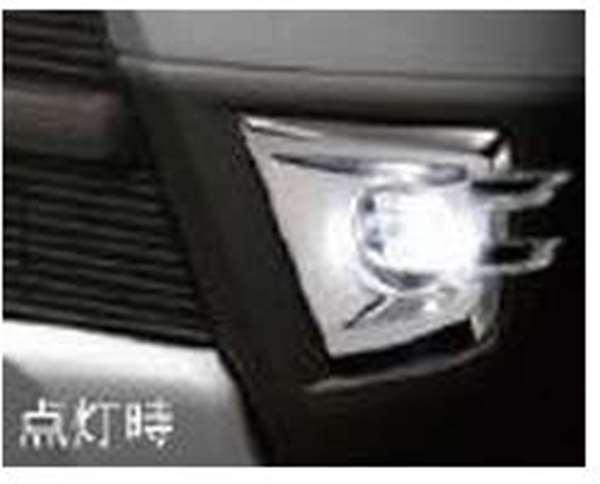 『ハイゼット カーゴ』 純正 S321V S331V LEDフォグランプ(メッキベゼル付)ブラック パーツ ダイハツ純正部品 フォグライト 補助灯 霧灯 オプション アクセサリー 用品