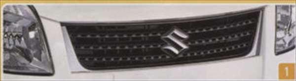 『パレット』 純正 MK21S フロントグリル(Aタイプ) パーツ スズキ純正部品 飾り カスタム エアロ palette オプション アクセサリー 用品