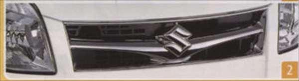 『パレット』 純正 MK21S フロントグリル(Bタイプ) パーツ スズキ純正部品 飾り カスタム エアロ palette オプション アクセサリー 用品