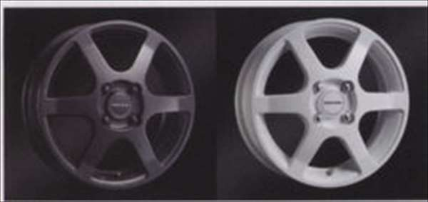 『パレット』 純正 MK21S アルミホイール(14インチ) ガンメタリック 1本からの販売 パーツ スズキ純正部品 palette オプション アクセサリー 用品