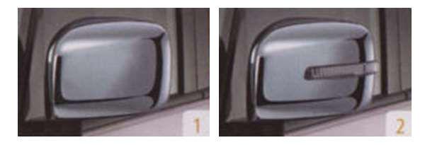 『パレット』 純正 MK21S ドアミラーカバー パーツ スズキ純正部品 メッキ サイドミラーカバー カスタム palette オプション アクセサリー 用品