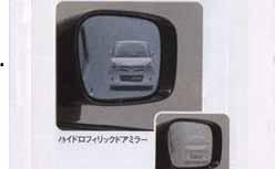 『パレット』 純正 MK21S ハイドロフィリックドアミラー 2WD車用 左右セット パーツ スズキ純正部品 水滴 視界 ブルー palette オプション アクセサリー 用品