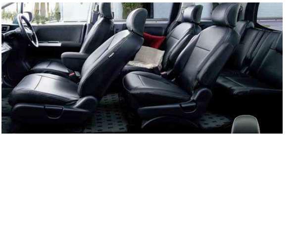 『フリード』 純正 GP3 シートカバー(ブラック) 革調タイプ 1列目+2列目セット パーツ ホンダ純正部品 座席カバー 汚れ シート保護 FREED オプション アクセサリー 用品
