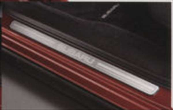 『XV』 純正 GP7 サイドシルプレート シルバー パーツ スバル純正部品 ステップ 保護 プレート オプション アクセサリー 用品