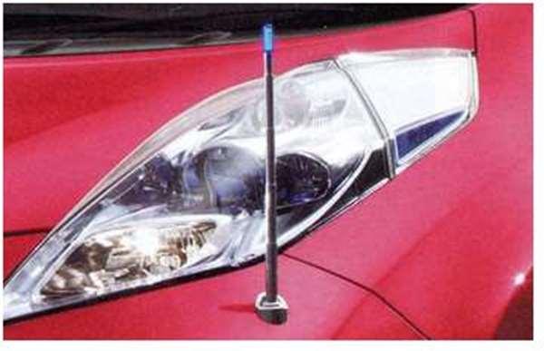 『リーフ』 純正 AZE0 電動格納式ネオンコントロール フルオートタイプ+昇降スイッチ パーツ 日産純正部品 コーナーポール フェンダーランプ フェンダーライト leaf オプション アクセサリー 用品