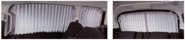 『プレマシー』 純正 CWFFW カーテン(消臭機能付) パーツ マツダ純正部品 PREMACY オプション アクセサリー 用品