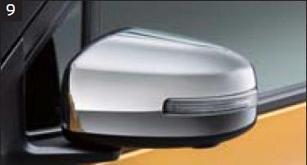 『ekクロス』 純正 B34W B35W B37W B38W B33W B36W メッキミラーカバー パーツ 三菱純正部品 メッキ オプション アクセサリー 用品