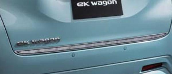 『ekクロス』 純正 B34W B35W B37W B38W B33W B36W テールゲートデカール パーツ 三菱純正部品 ステッカー シール ワンポイント オプション アクセサリー 用品