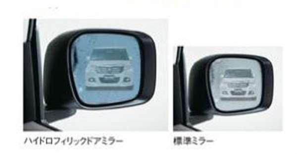 『ソリオ』 純正 MA46S MA36S MA26S ハイドロフィリックドアミラー 交換タイプ 左右セット パーツ スズキ純正部品 水滴 視界 ブルー オプション アクセサリー 用品