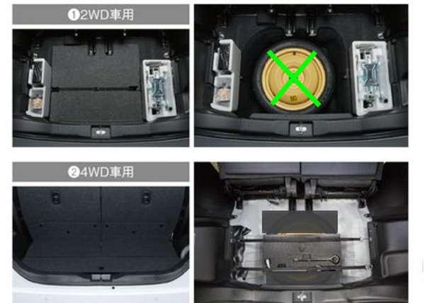 『ソリオ』 純正 MA46S MA36S MA26S スペアタイヤ固定キット 2WD車用 ※スペアタイヤは含まれておりません。 パーツ スズキ純正部品 オプション アクセサリー 用品