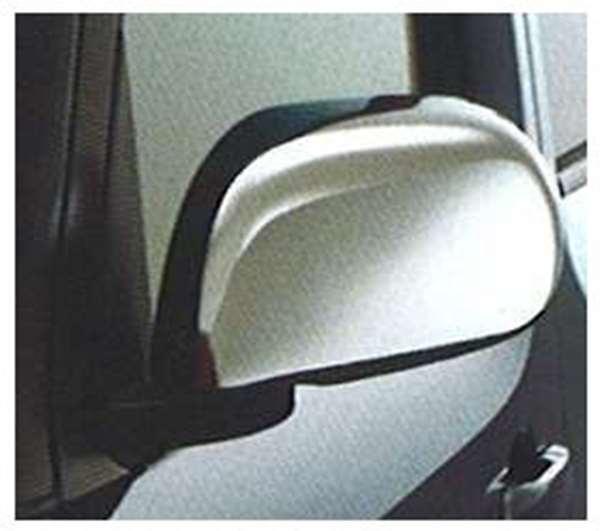 『キューブ』 純正 YZ11 BZ11 BNZ11 ドアミラーカバー(クロームメッキ仕様:左右セット) パーツ 日産純正部品 サイドミラーカバー カスタム CUBE オプション アクセサリー 用品