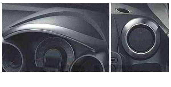 『フィット』 純正 GE6 GE9 メーターバイザー/アウトレットリング パーツ ホンダ純正部品 FIT オプション アクセサリー 用品
