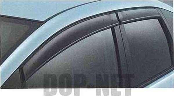 『フィット』 純正 GE6 GE9 ドアバイザー/エアロデザインタイプ パーツ ホンダ純正部品 サイドバイザー 雨よけ 雨除け FIT オプション アクセサリー 用品