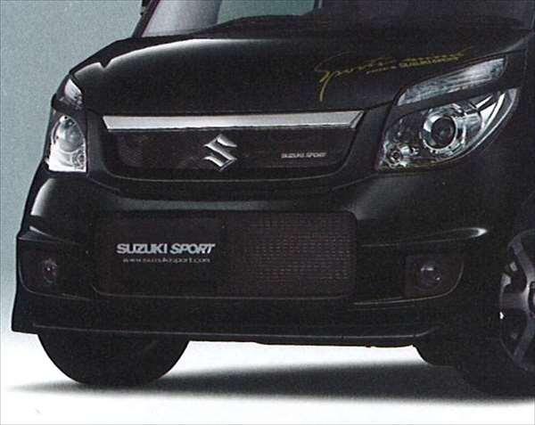 『パレット』 純正 MK21S フロントバンパー&グリル パーツ スズキ純正部品 カスタム エアロバンパー palette オプション アクセサリー 用品